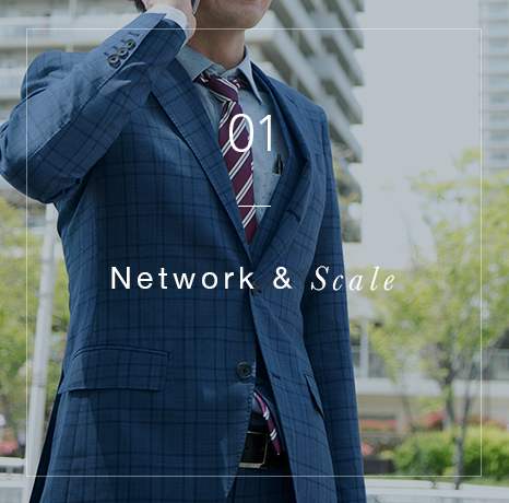 01 / Network & Scale